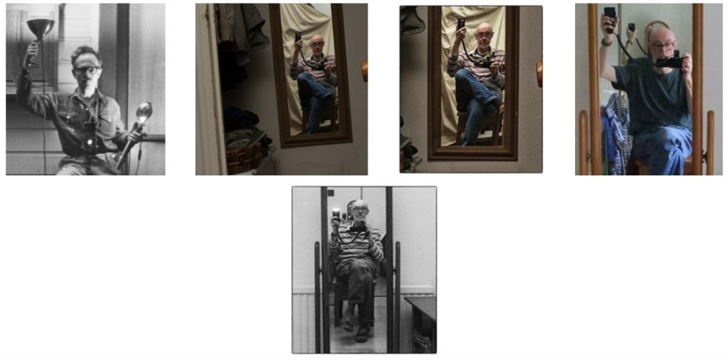 Autoportrait aux flashes
