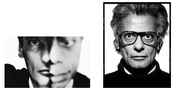 Richard Avedon's 1964 self portrait